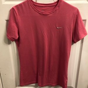 Nike Tops - 5 for $20- Nike Dri Fit pink tee